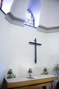 Condoleance met kruis